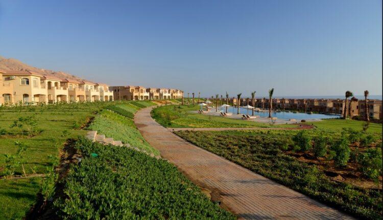 LandScape in Telal El Sokhna Resort