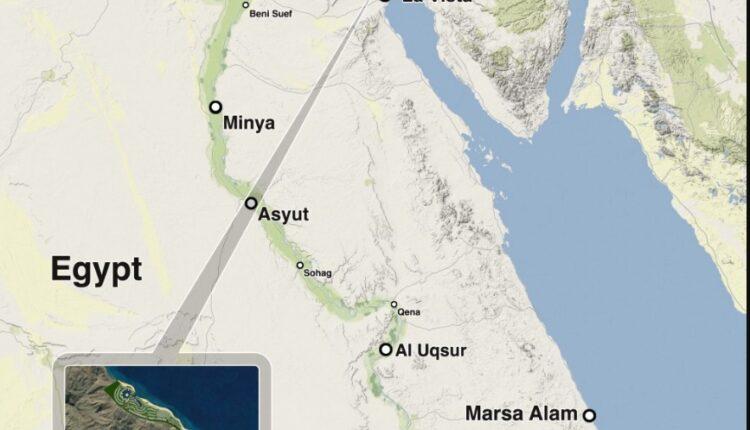 Location of Telal El Sokhna