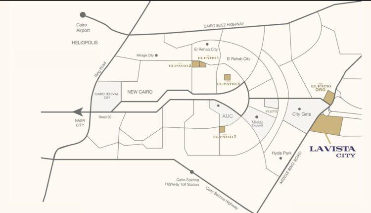 La Vista City Location