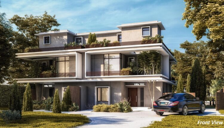 Twin houses For sale in il Bosco New Capital