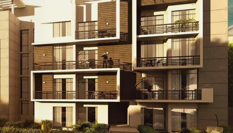 Apartments with garden for sale in Fifth Square