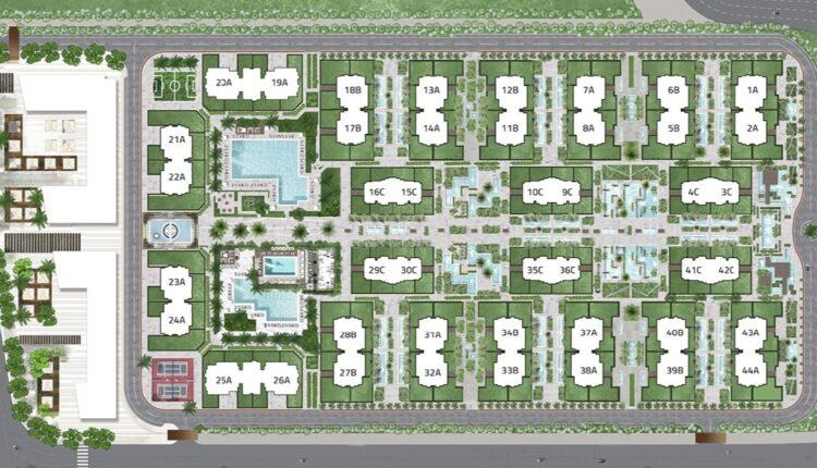 Castle Landmark Master plan