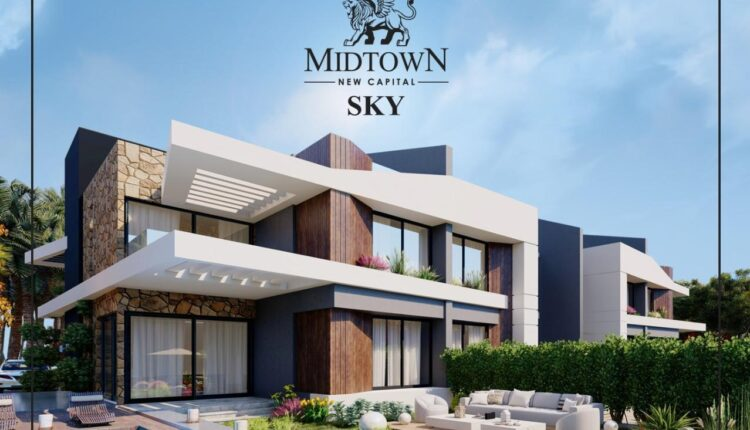 Midtown Sky New Capital Villa townhouse for sale