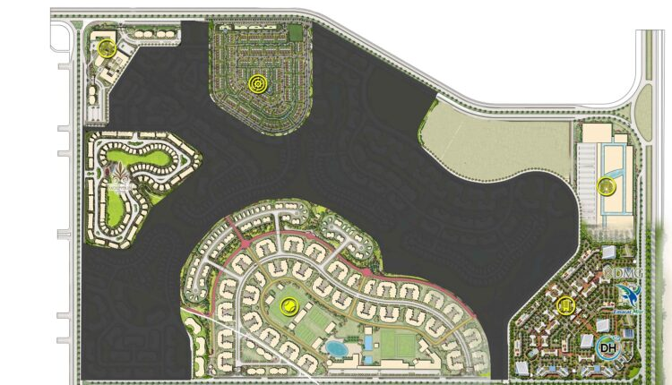 Mountain View Icity New Cairo Master Plan