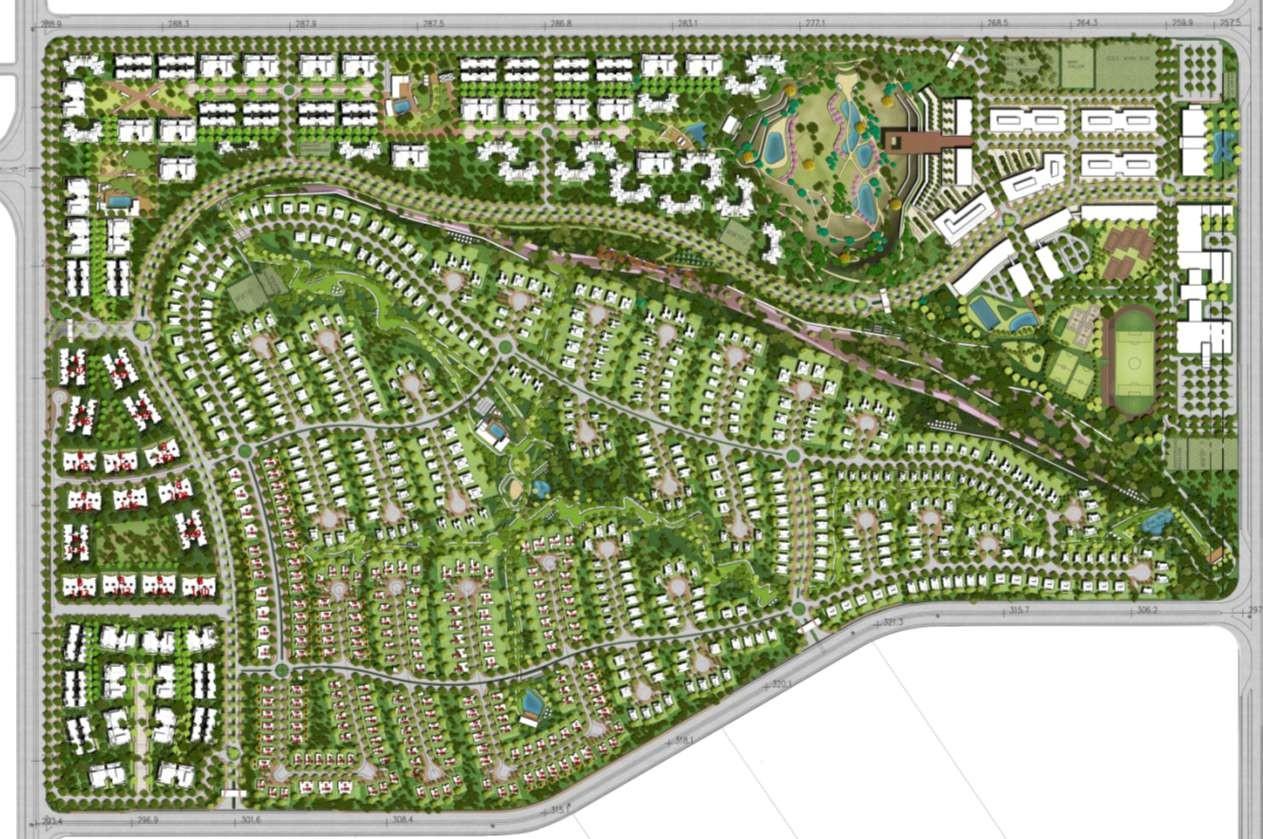 Palm Hills New Cairo Master Plan