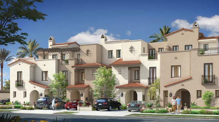 Spanish town houses uptown cairo