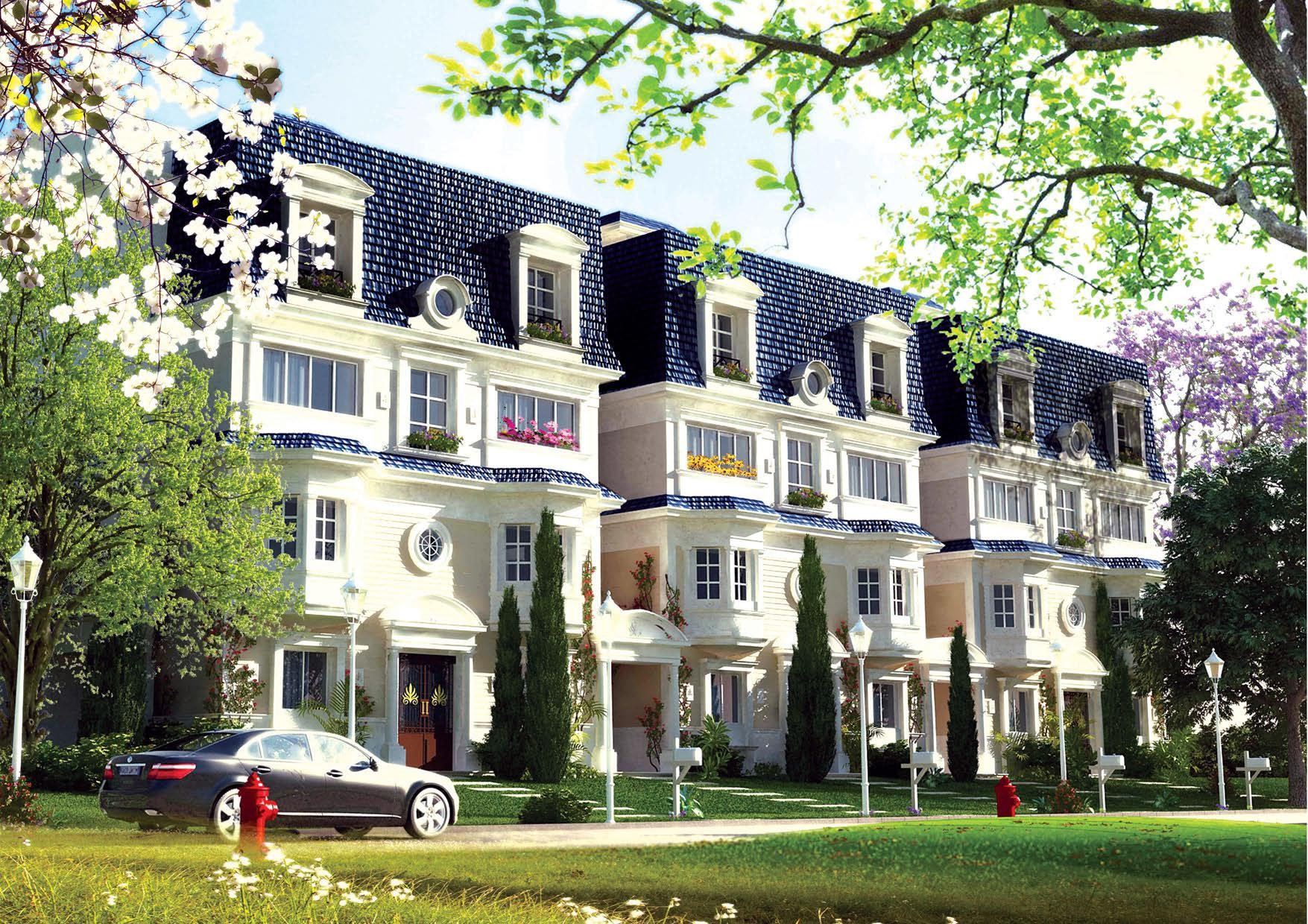 Town houses for sale in mountain view icity new cairo