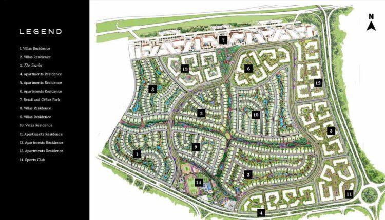 swan lake residence Master Plan