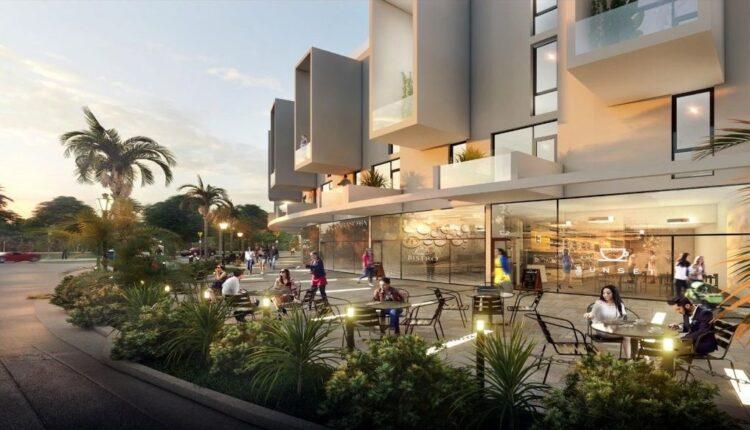 Mall in IL Bosco City compound