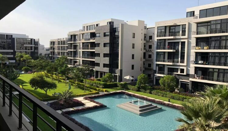 Apartments for sale in the water way Compound