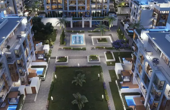 Apartments in Cairo West Residence compound