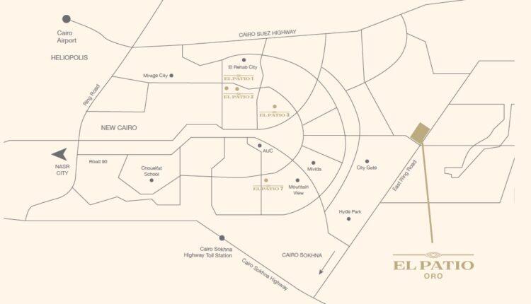 El Patio Oro Location