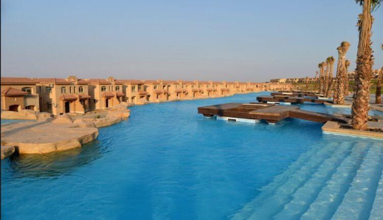 Lakes in Telal Resort Ain Sokhna