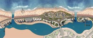 Master Plan The Gate Towers New Alamein