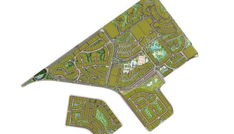 Master Plan for Palm Hills October 1