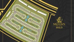 Midtown Solo Mall New Capital masterplan