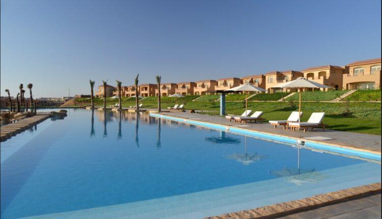 Swimming Pool in Telal Resort Ain Sokhna
