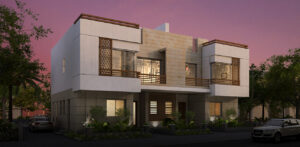 Twin house for sale in Atrio Compound