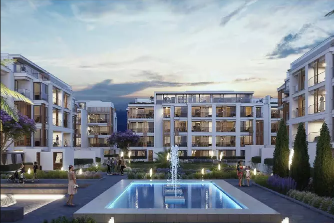 Units and Swimming Pool in Cairo West Residence