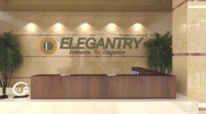 entrance in Elegantry mall