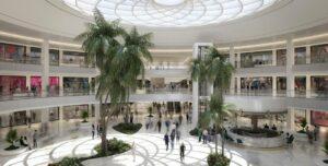mall in Skyline compound