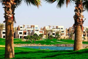 Chalets and Landscape in Hacienda Bay from Palm Hills Developments