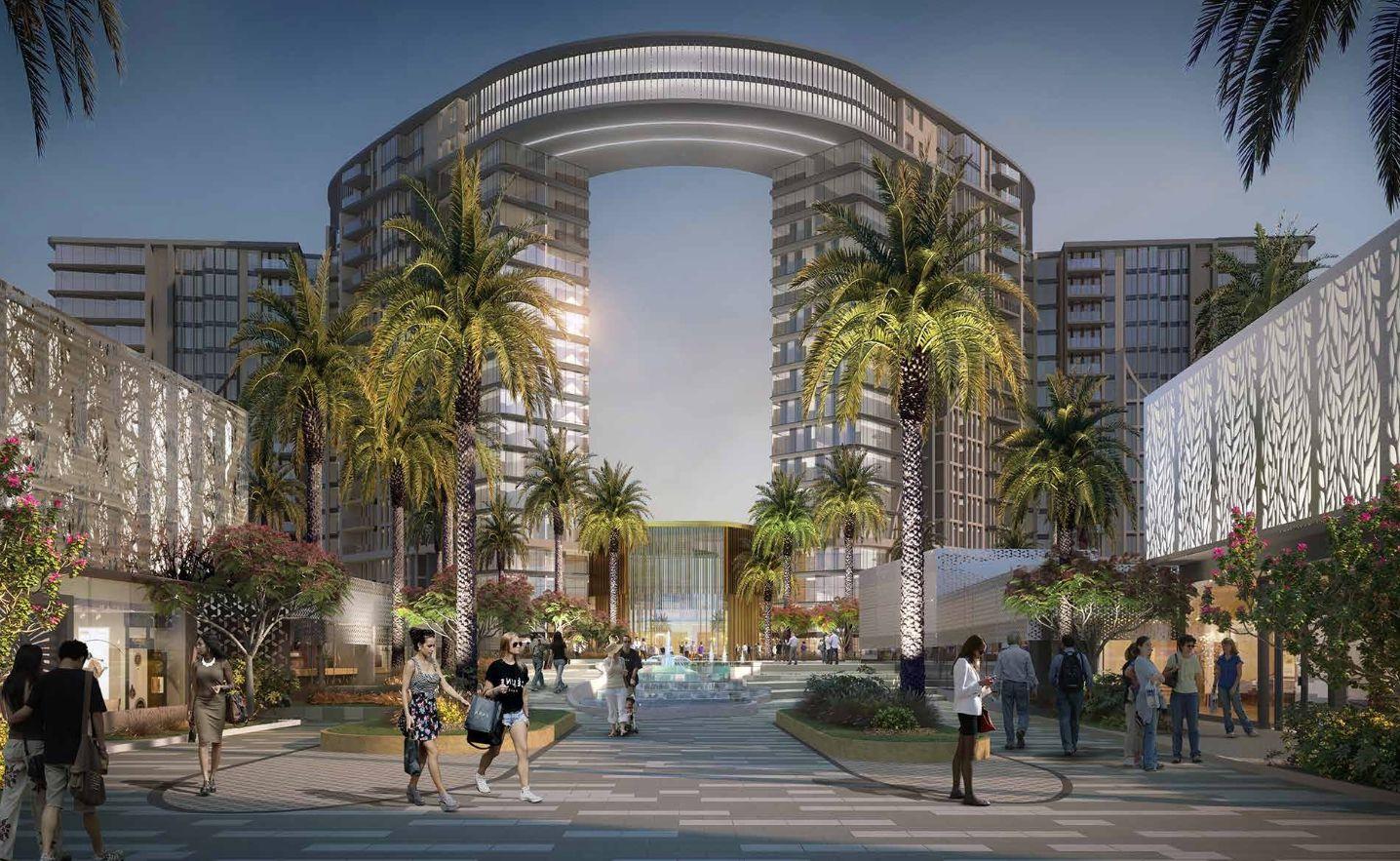 Zed Towers Sheikh Zayed compound