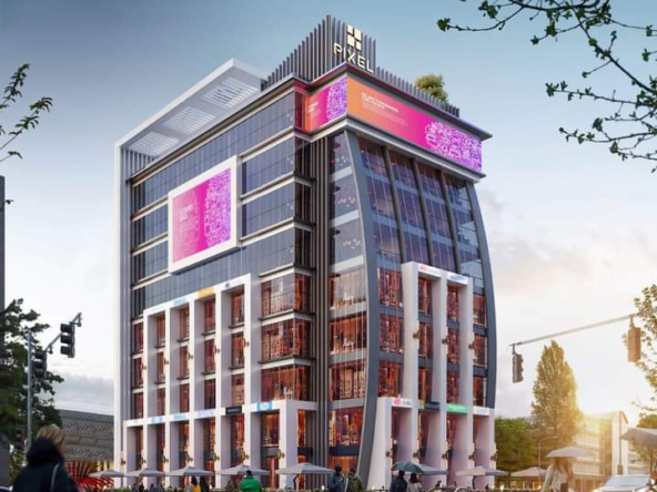 مول العاصمة الادارية Pixel Mall New Capital