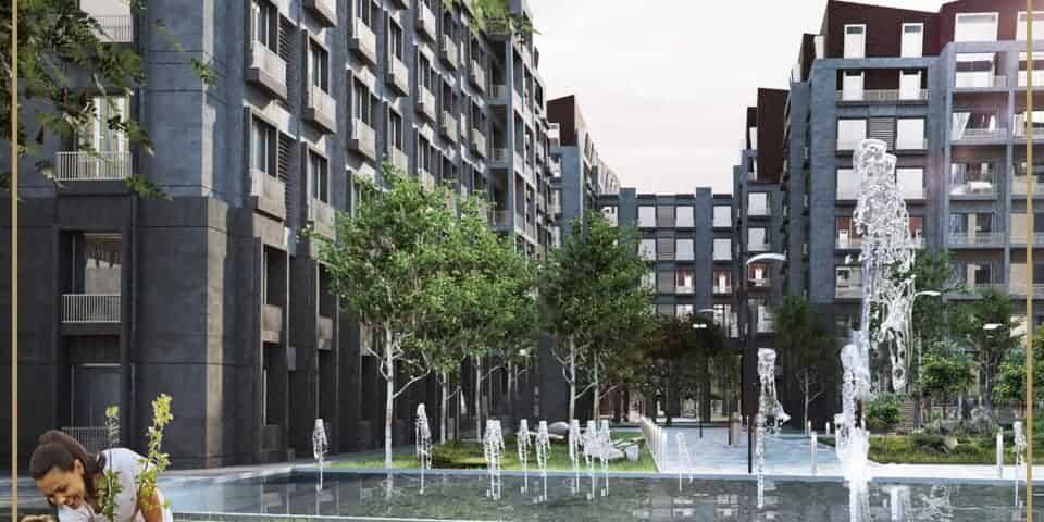 تحت سعر السوق دوبلكس 335م للبيع في كمبوند بارك لين العاصمة الإدارية