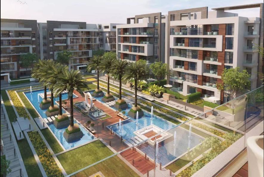 بمساحة 189 متر شقق للبيع في لاميرادا المستقبل