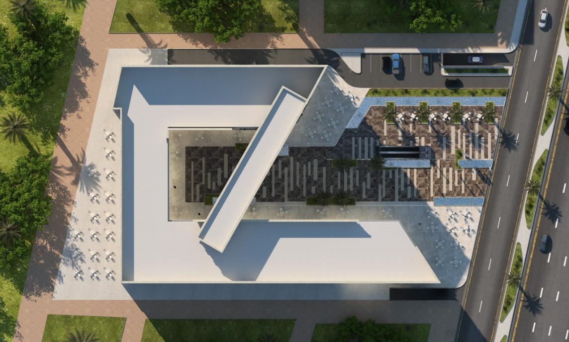 عيادات للبيع في ايفوري بلازا 1 غرفة 34 متر