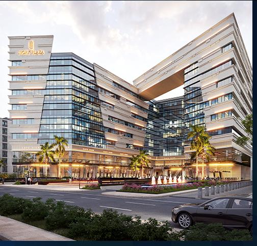 بمُقدم 10 % امتلك محل في مول Ivory Plaza العاصمة الادارية بمساحة 100 متر