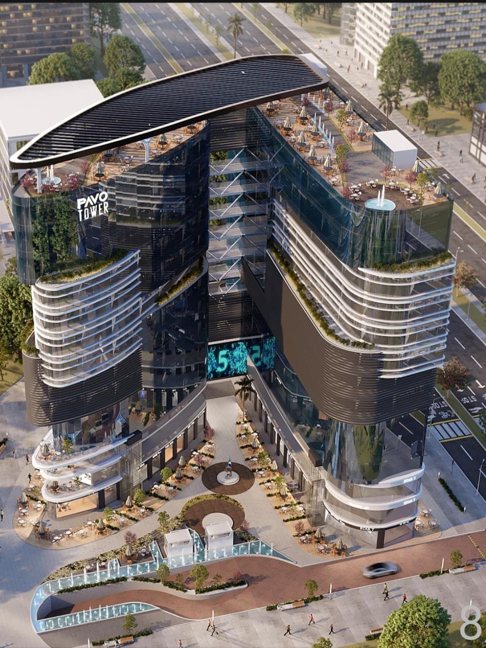 Pavo Tower New Capital
