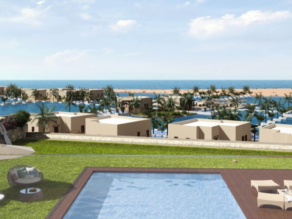Unit with Swimming Pool in Fanadir bay 1