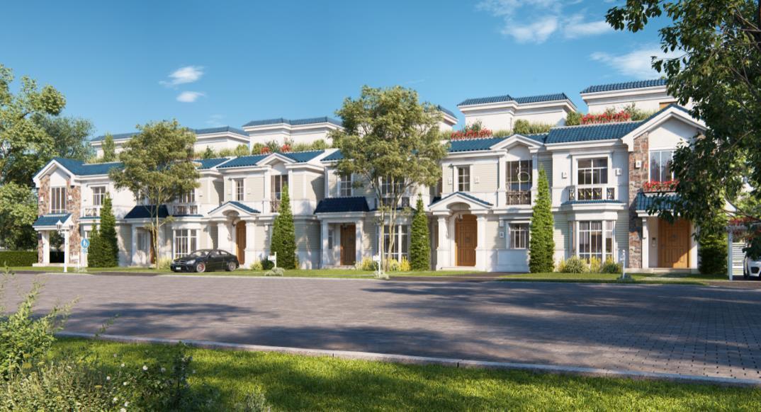 فلل للبيع 4 غرف نوم في ماونتن فيو 3 180 متر