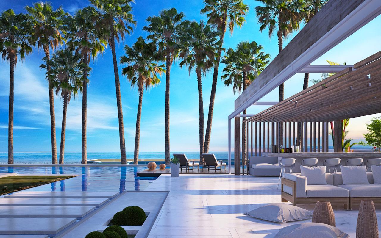 hacienda white luxury