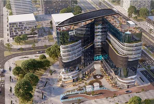 pavo tower new capital cbd mercon developments bafo taor alaaasm aladary aljdyd shrk myrkon llttoyr alaakary