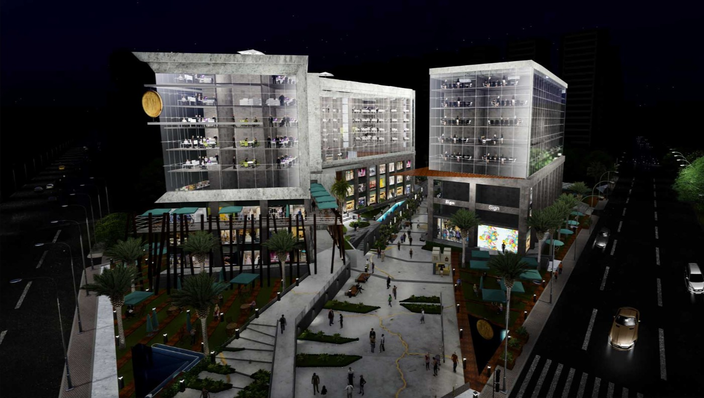امتلك محل في ذا ووك العاصمة الجديدة بمساحة تبدأ من 53 متراً